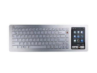 Asus will present Eee Keyboard in April