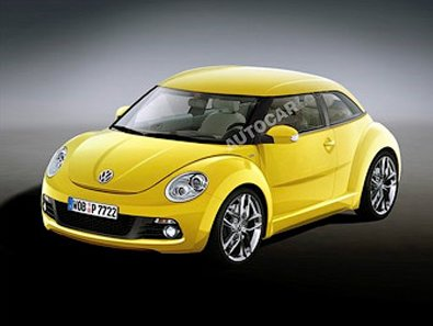 Prototype new VW Beetle will show in November