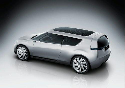 Compact car Saab