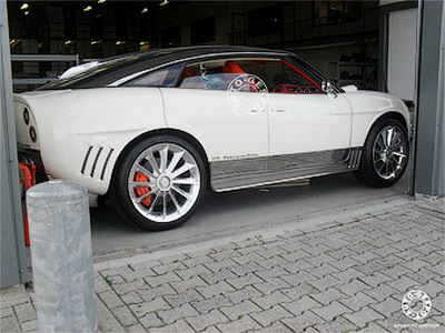 Serial off-road car Spyker will present in Frankfurt