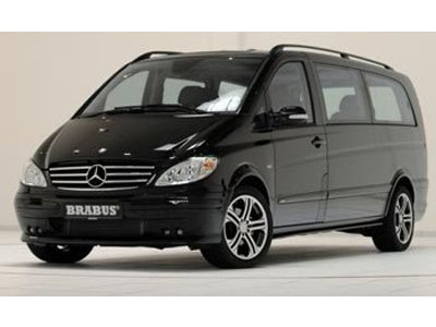 Brabus has constructed on the basis of Mercedes Viano mobile office