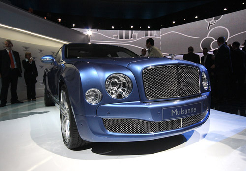 From Bentley Mulsanne will make coupe and cabriolet