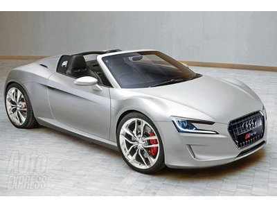 Roadster Audi R4 will recruit ranks exotic sportcars