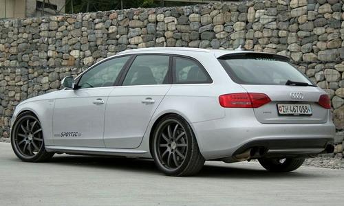 "Studio Sportec ""has charged"" Audi S4 Avant"