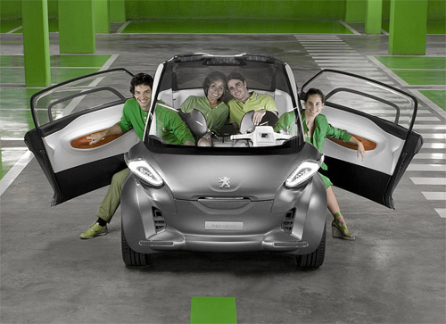 Electrocar Peugeot