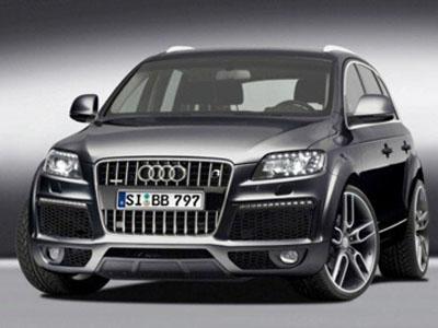 Off-road Audi Q7