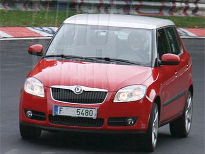 Hatchback Skoda Fabia