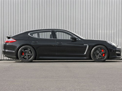 Gemballa has equipped Porsche Panamera with new wheels