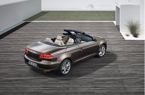 New Style of Cabriolet Volkswagen Eos