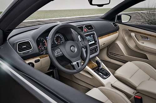 VW Eos, Interior