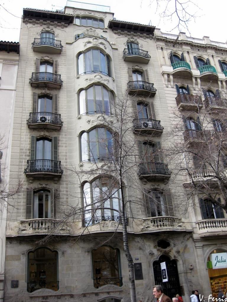 Casa miquel a fargas barcelona modernista - Casas modernistas barcelona ...