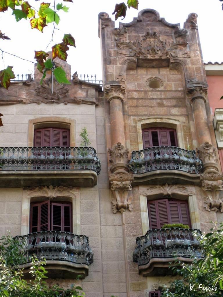 Casa adolf ruiz llosas barcelona modernista - Casas modernistas barcelona ...