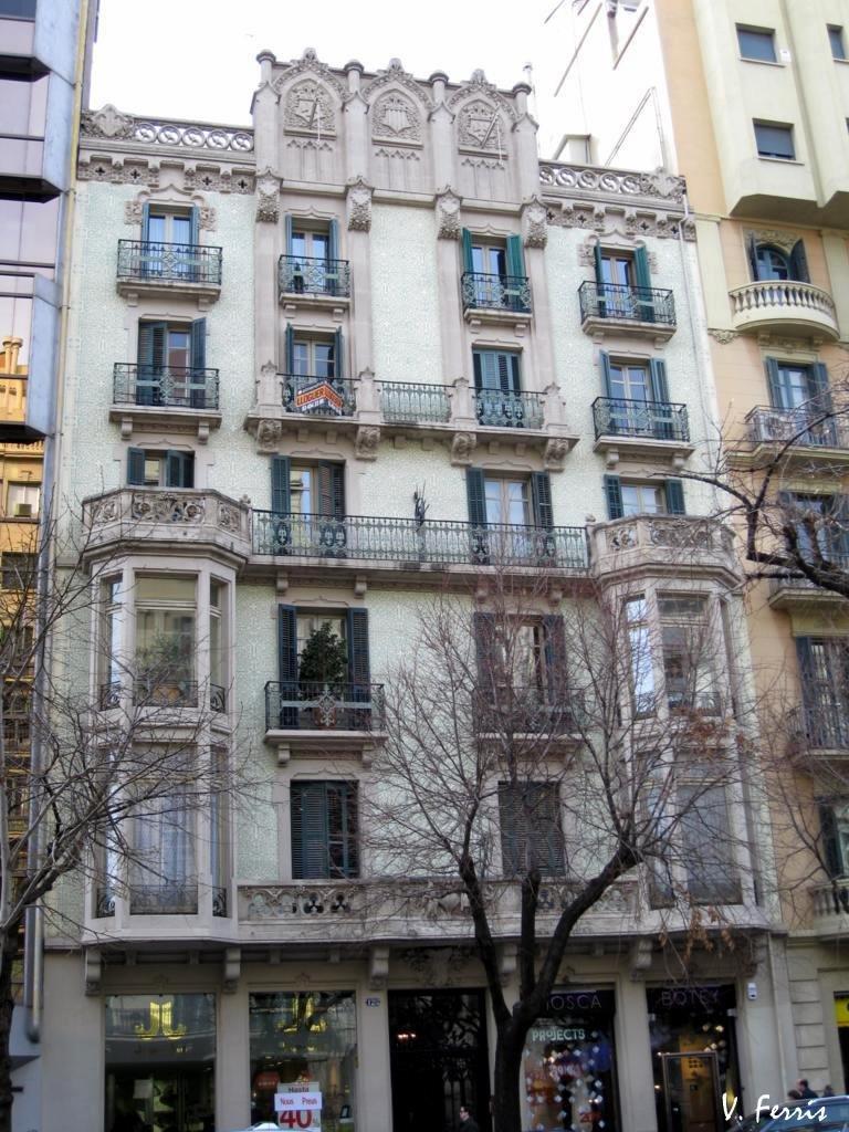 Casa lloren armengol barcelona modernista - Casa modernista barcelona ...