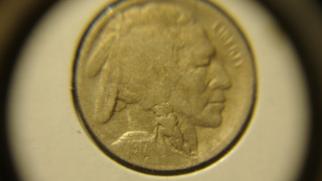 1917-D Buffalo Nickel Restored