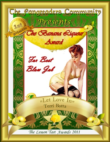The Banana Liqueur Award 1st Place