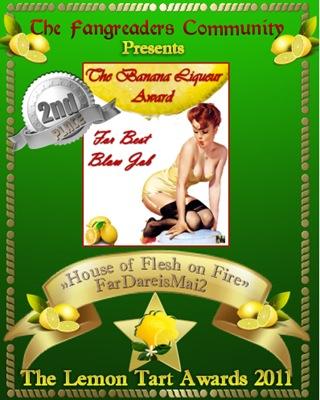 The Banana Liqueur Award 2nd Place