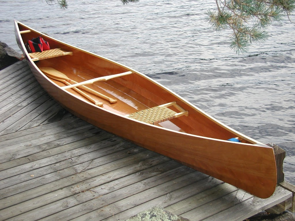 Gallery of home made canoes page 2 for Plans for canoe