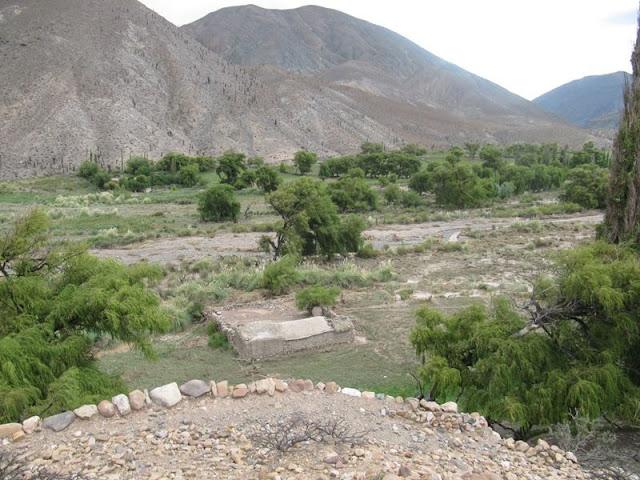 Paisaje de la Quebrada. Esto es San Bernardo de las Zorras