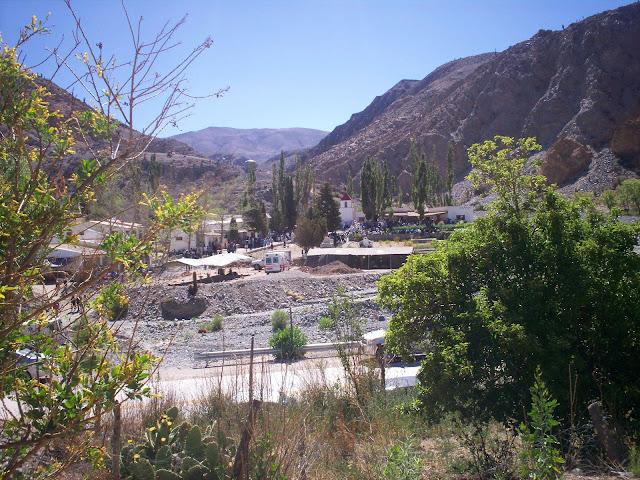 Uno de los parajes más lindo de la Quebrada del Toro, El Alfarcito