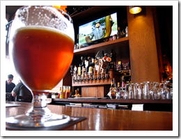 image of Collins Pub's bartop courtesy of Russ+'s Flickr page