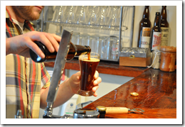 image of Cody Lee Morris pouring an Epic Ales' beer courtesy of our Flickr page