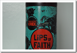 image of Lips of Faith Transatlantique Kriek courtesy of our Flickr page