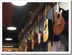 image from one of the walls of The Green Frog Courtesy of heisler's Flickr page