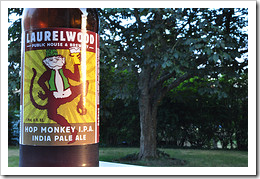 image of Laurelwood's Hop Monkey IPA courtesy of our Flickr page