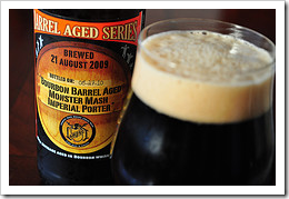 image of Lompoc's Barrel-aged Monster Mash courtesy of our Flickr page
