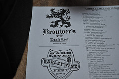 image of last year's Hard Liver Barleywine Festival courtesy of our Flickr page