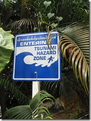 Koh Lanta Tsunami Sign1