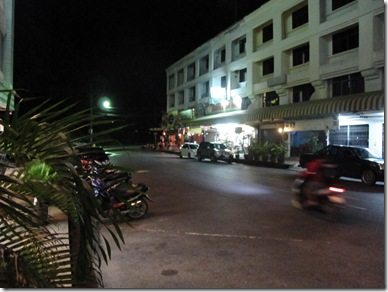 Krabi Town Night Time