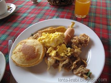 Ao Nang Hotel Breakfast