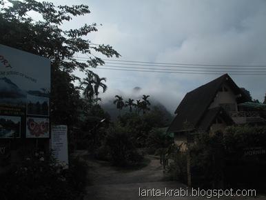 Thailand Mountains Morning Mist