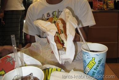 Subway Sandwich Phuket