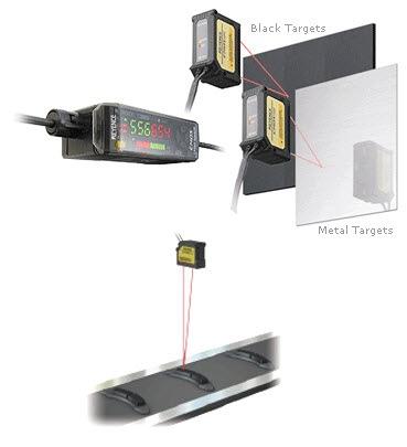 Dark Object Laser Detection Sensor