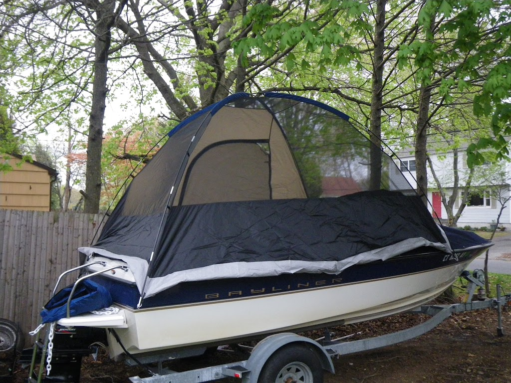Poor Mans Boat Camper Cover Page 1 Iboats Boating