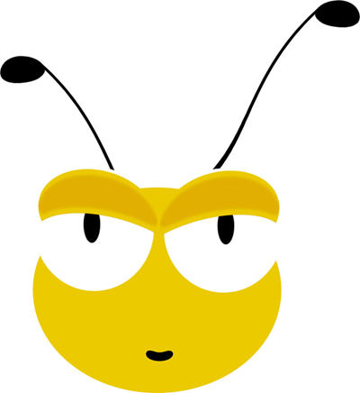 imagen de cabeza de abeja