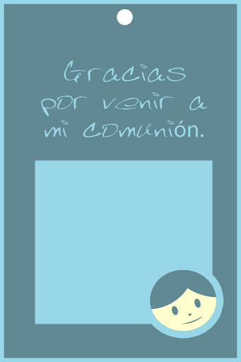 tarjetas para detalles de comunion