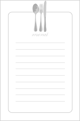 menus para imprimir, menus to print