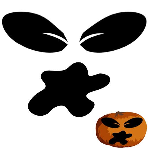 calabazas de halloween plantillas
