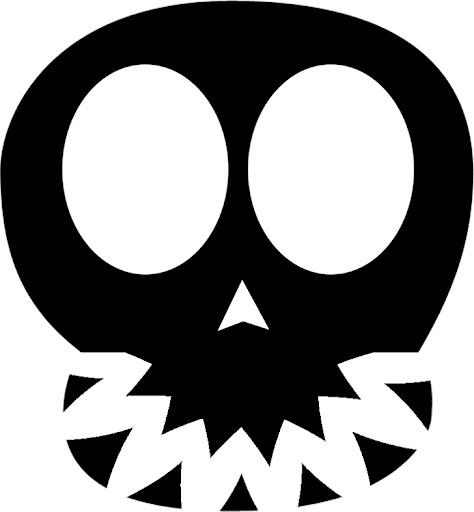 Siluetas para decorar en halloween dibujos dibujos - Decoracion halloween para imprimir ...