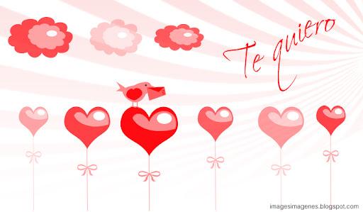 felicitacion de san valentin te quiero