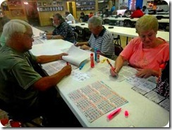 bingo with paul and marsha