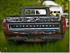old country pickup truck