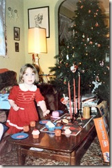 1988 Christmastime at Bedstemor's Elinor with play food
