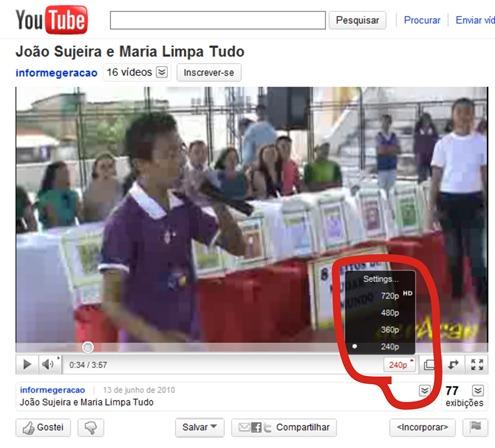 youtube mais rapido