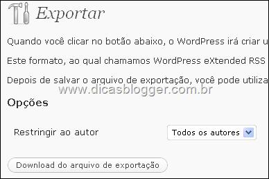 exportar-postagens-wordpress-servidor-proprio