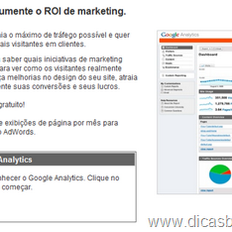 Como colocar o Google Analytics no Blogger