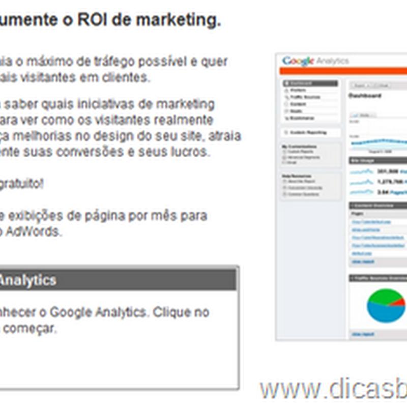 Como colocar o Google Analytics no Blogger